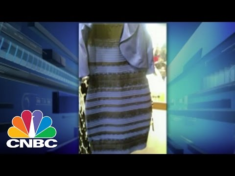 The White Gold Dress That Broke The Internet Cnbc Youtube