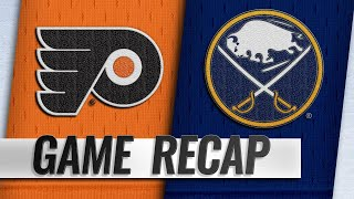 Big 1st helps Sabres down Flyers to extend win streak