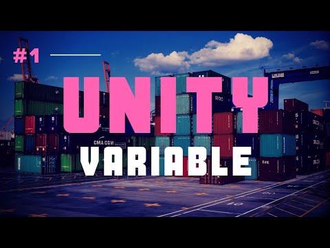 Variable | #1 Unity Scripting Tutorial thumbnail