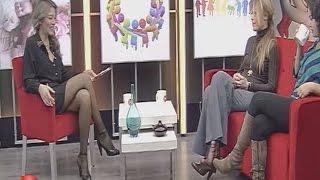 Sibel Arna Beautiful Turkish Tv Presenter 13.01.2013