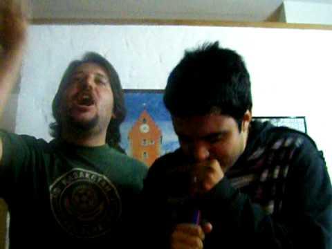 cumple del ponti karaoke ale facu y el gayet parte 2