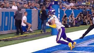 Adam Thielen MAKES A RIDICULOUS TD CATCH/NFL WEEK 7/Vikings vs Lions