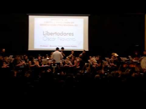 Libertadores de Oscar Navarro Orquestra del Conservatorio José Pérez Barceló de benidorm