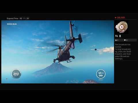 Just cause 3 play through ep 8/ the volcano tour