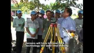 Farmers tell their stories: Laser leveling of rice fields in Southeast Asia