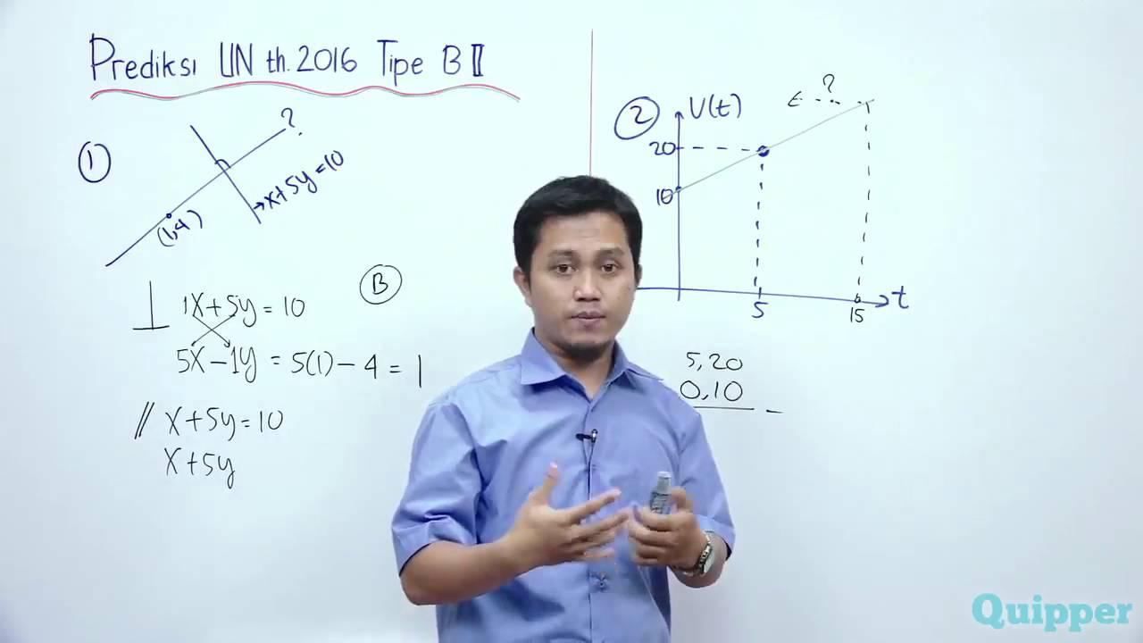 Quipper video matematika prediksi un kelas 9 youtube stopboris Image collections