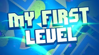 Playing My First Level - Geometry Dash [2.1]