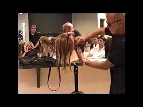 ABC of CUTTING ANGLES AND ELEVATION . Robert teaches the ROP team in salon