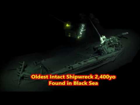 World's OLDEST Intact  Shipwreck!  2,400 yo 'Odysseus' Greek Ship Found at Bottom of Black Sea