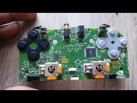 Nvidia shield tv controller take apart parts