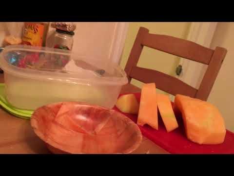 Juicing  fruits  to make fresh juice  part 2