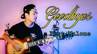 Goodbyes - Post Malone ft. Young Thug (Guitar Cover) *Rock Version