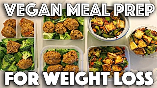 VEGAN MEAL PREP FOR WEIGHT LOSS | Protein-packed recipes