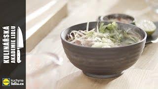 Asijská polévka Pho Bo - Roman Paulus - Kulinářská Akademie Lidlu