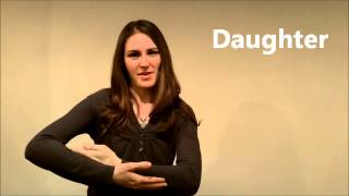 American Sign Language (ASL) Lesson: Family & PQRST