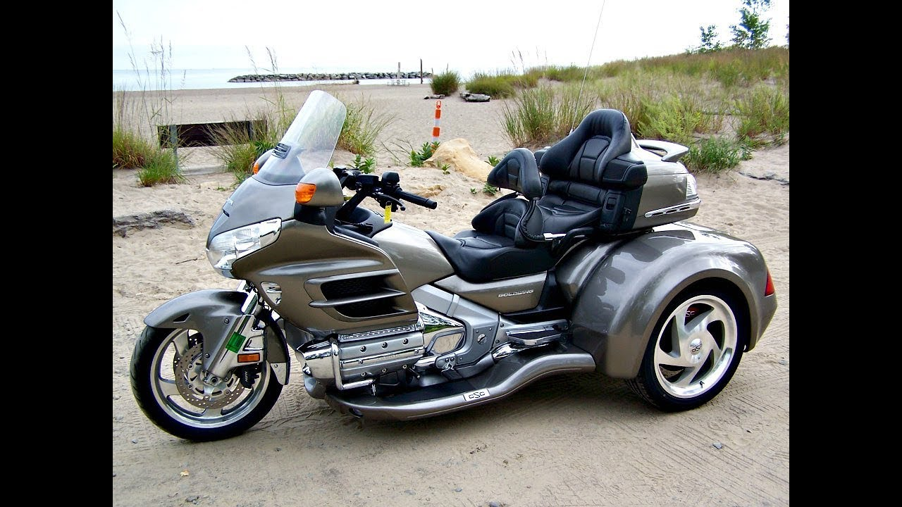 SOLD! 2008 Honda Gold Wing Navi with NEW CSC Viper Trike! - YouTube
