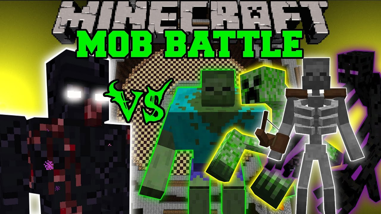 Mutant obsidian golem vs mutant zombie creeper enderman for Zombie build
