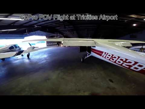 GoPro POV Video At Tri-Cities Airport