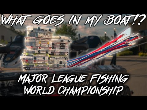 What I Put In My BOAT For A World Championship Fishing Tournament.