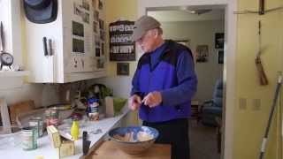 Any Fool Can Do This Cooking School Presents:  Canned Salmon Patties With Chef Richard