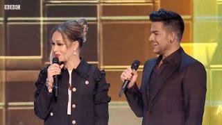 Adam Lambert Presenting at the BBC Music Awards 2016 12 12