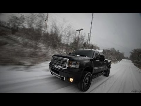 Denali Duramax Winter Drifting