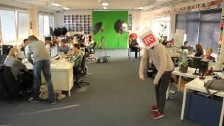 Harlem shake at the iamTV office