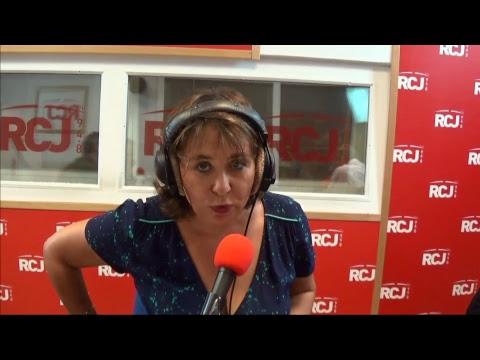 Sandrine Sebbane reçoit Hervé Devolder, Cathy Arondel, Marion Preite, Fabian Richard et Cyril Romoli