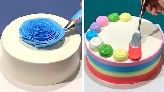 Quick & Simple Cake Decorating Ideas | Most Satisfying Chocolate | So Yummy Chocolate Cake Recipes