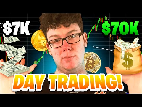 How I Turned $7k To $70k With Day Trading Cryptocurrency