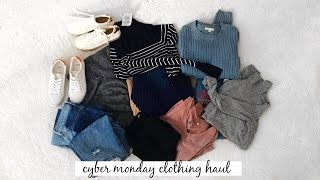 (TRY-ON) CYBER MONDAY CLOTHING HAUL 2016 l Olivia Jade