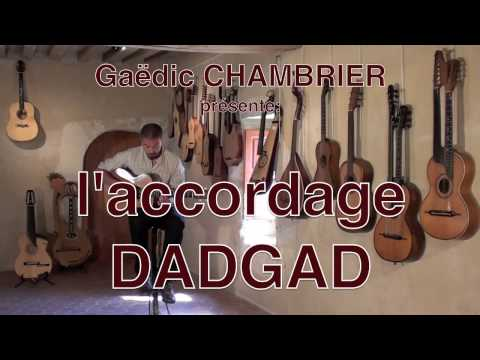 DADGAD  exemples Gadic CHAMBRIER
