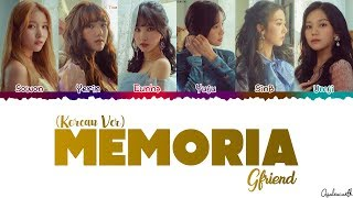 All rights administered by sourcemusic entertainment [song information] • name:memoria artist:gfriend album:time for us no copyright infringement intende...