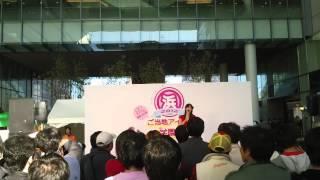 東京のご当地アイドル「浜田由梨」 浜松ご当地アイドル学園祭2012にて 2...