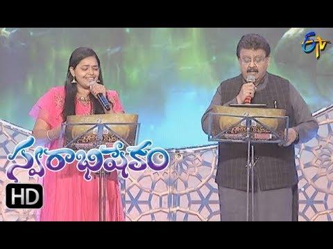 Maavichiguru Thini Song   SP Balu, Sri Varthini Performance   Swarabhishekam   26th November 2017 