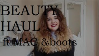 Beauty Haul Thumbnail