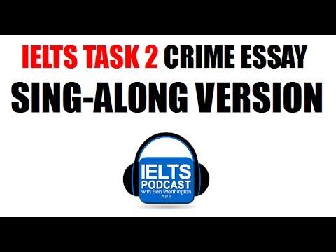 IELTS Task 2 Crime Essay -