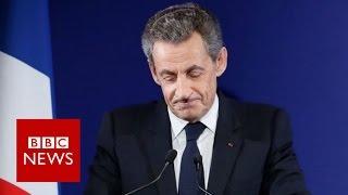 France Sarkozy  Ex president exits after defeat   BBC News