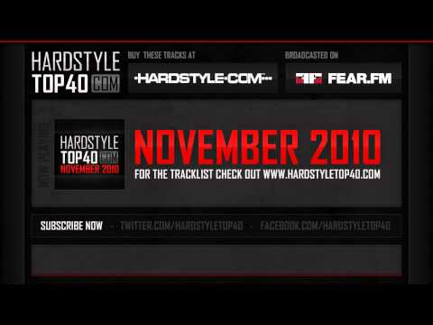 Hardstyle Top40 - November 2010 (HQ)