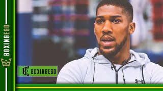"""BREAKING! ANTHONY JOSHUA: """"ANDY RUIZ LANDED A LUCKY PUNCH & IS NOT THAT SKILLFUL"""""""