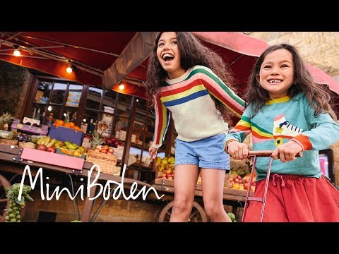 Mini Boden Autumn Lookbook: Spectacular sports-inspired clothes
