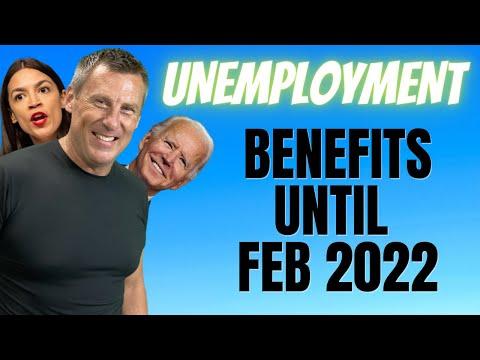 UNEMPLOYMENT BENEFITS UNTIL FEB 2022! PUA UPDATE! Job Market