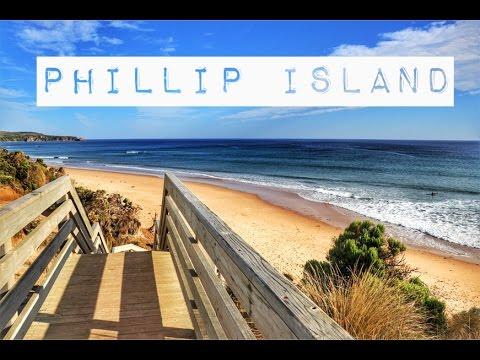 Phillip Island Australia Drone