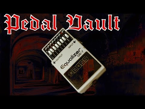 Pedal Vault – Boss Graphic Equalizer GE-7 Metal review