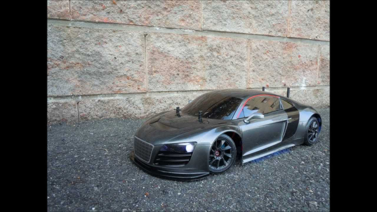 TAMIYA's Audi R8 First Run - YouTube