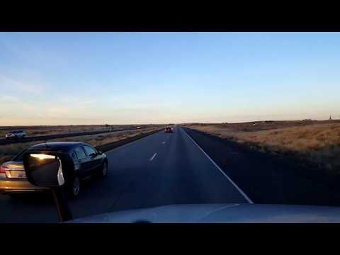 BigRigTravels LIVE! Kennewick to Spokane, Washington US 395, Interstate 90-Nov. 27, 2017