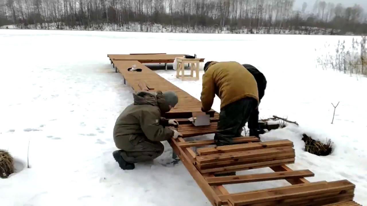 Как сделать мостки на реке фото 42