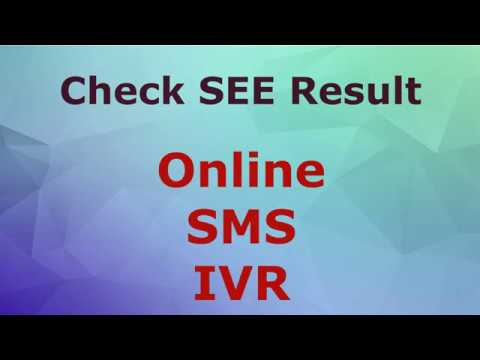 SEE Result 2075 2076, Check Online, SMS and IVR