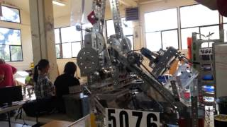 FTC Team CyberStorm 5076 Hanging System