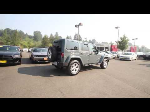 2014 Jeep Wrangler Unlimited Sahara | Anvil Clear Coat | EL258458 | Redmond | Seattle |